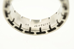 custom ring AK Jewelers